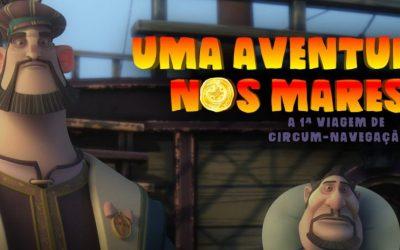 """Cinema – """"Uma Aventura nos Mares"""""""