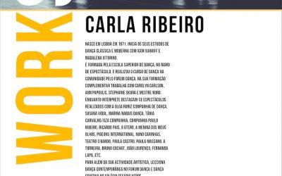 """Workshop – """"Dança Contemporânea"""" – Carla Ribeiro"""