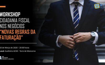 Workshop – cidadania fiscal nos negócios