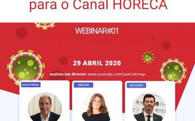 Webinar – Problemas e Soluções para o Canal HORECA